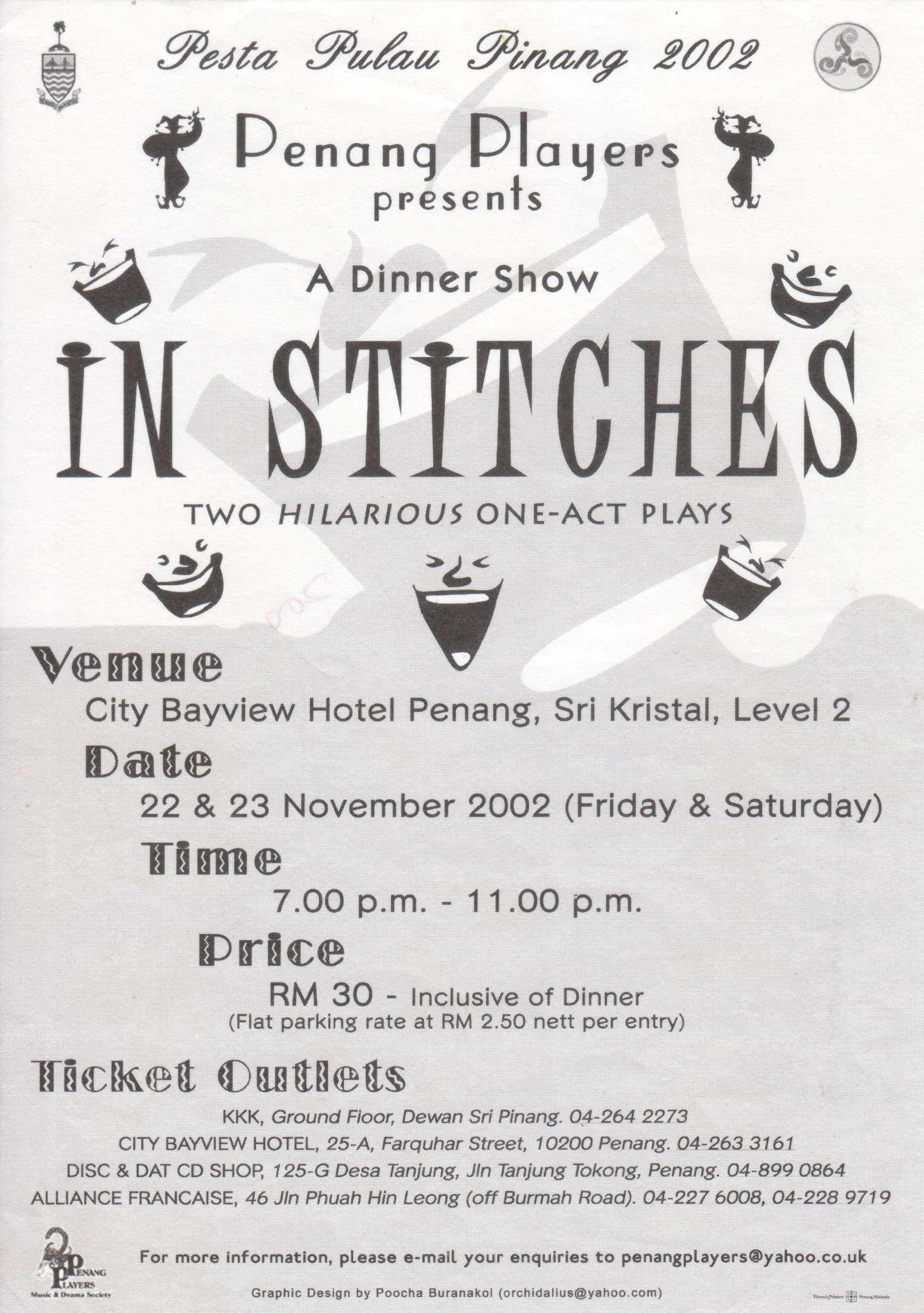 In Stiches Flyer
