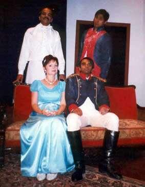 Blue Dress Napoleon Soldier