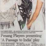 A Passage To India Newspaper Clipping