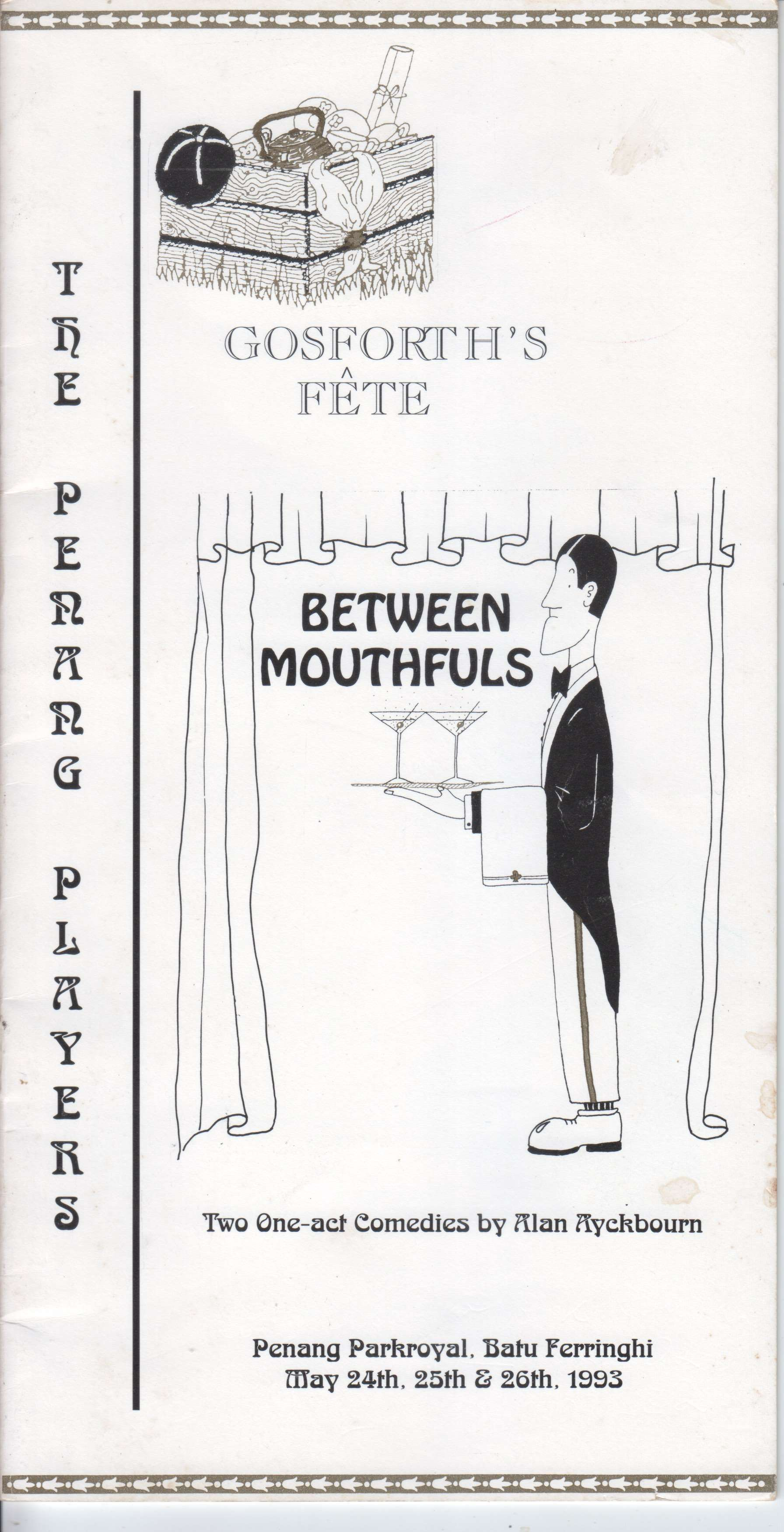 Gosforth's Fête and Between Mouthfuls Programme