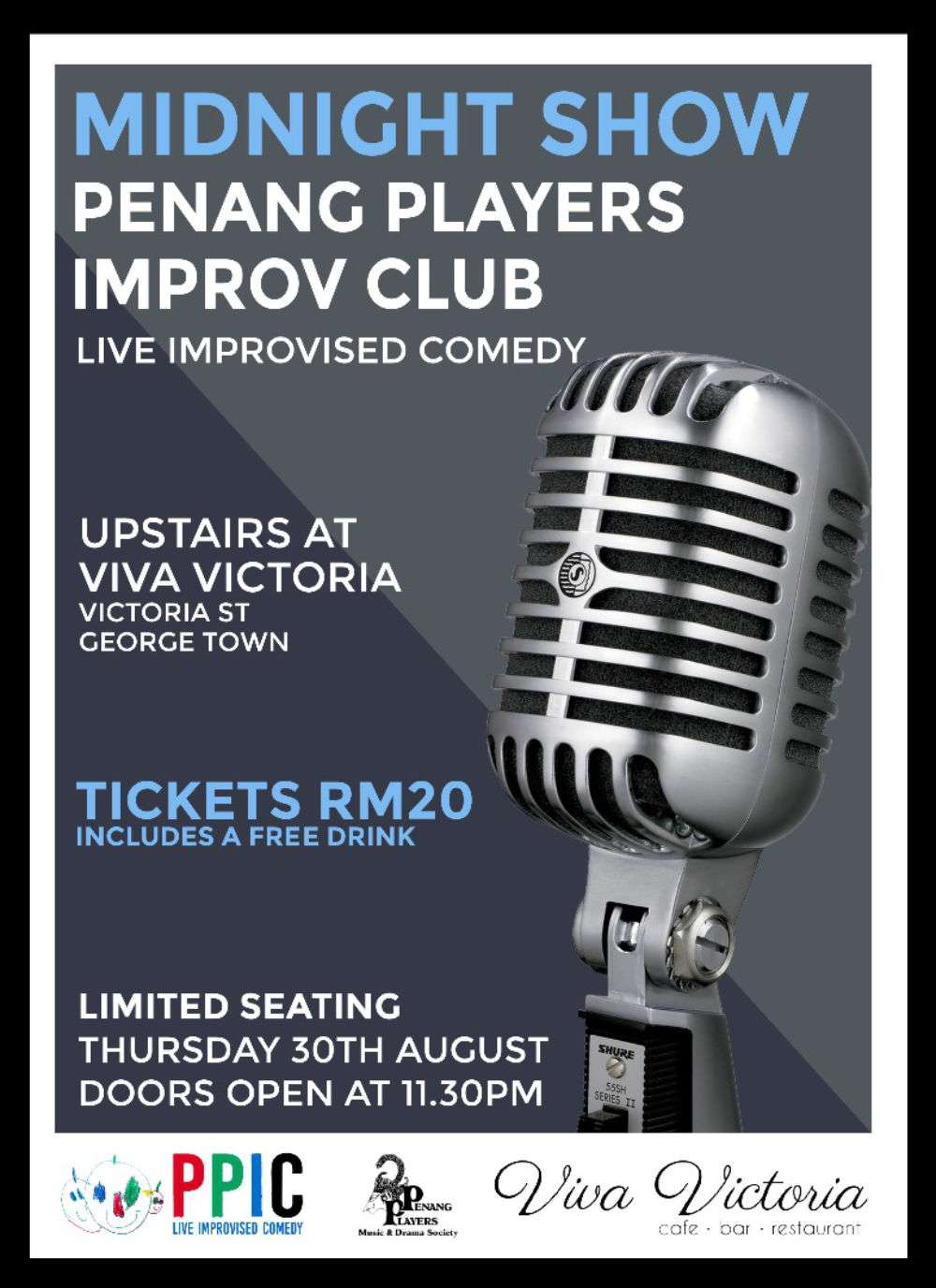 Penang Players Improv Poster