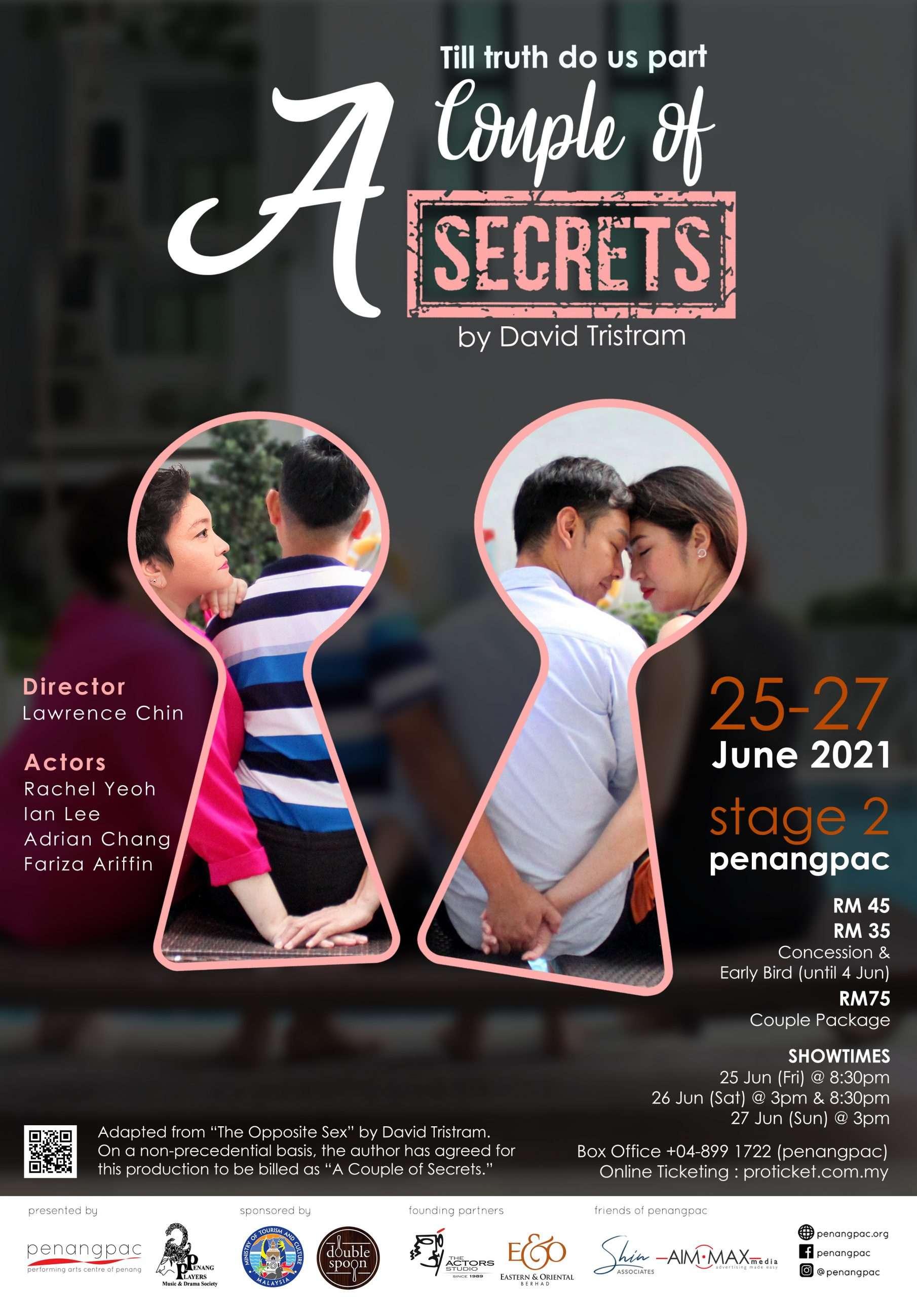A Couple of Secrets Poster